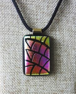 Etched TieDye - Fuchsia & Yellow