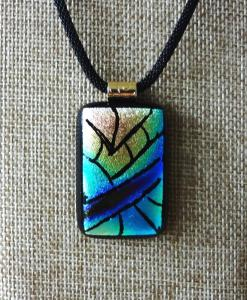 Etched TieDye - Turquoise & Blues