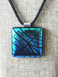 Etched TieDye - Blue and Turquoise