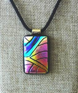 Etched TieDye - Fuchsia, Blue, Turquoise and Yellow